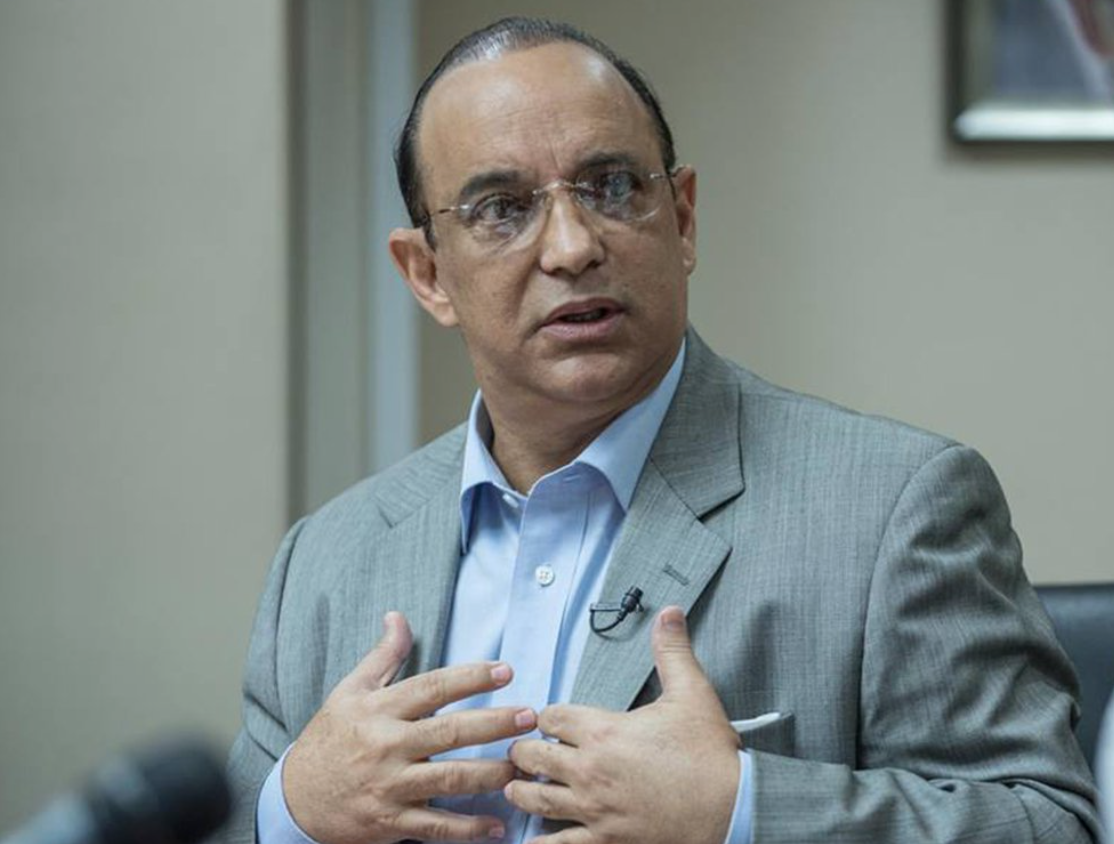 Federico -Quique- Antún, presidente del PRSC.