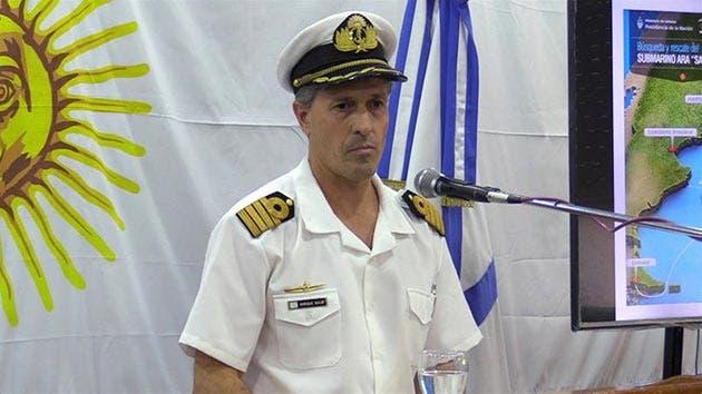El Gobierno argentino destituye al jefe de la Armada tras el caso submarino