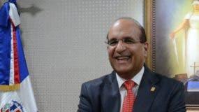 Julio César Castaños Guzmán afirmó que el Registro Civil ha sido fortalecido.  José De León