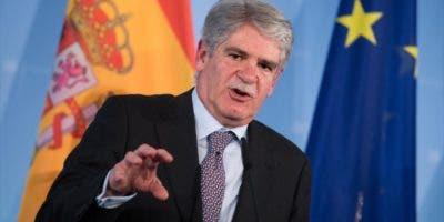 Ministro español de Asuntos Exteriores, Alfonso Dastis.