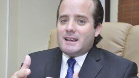 José Ignacio Paliza, senador del PRM.  archivo