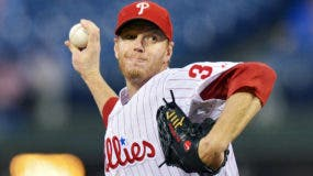Image: FILE: Former MLB Pitcher Roy Halladay Dies in Plane Crash Miami Marlins v Philadelphia Phillies