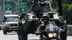 El Gobierno movilizó una extensa operación militar combinada.