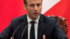 El presidente Emmanuel Macron hizo partícipes a las dos líderes de los resultados de su viaje.
