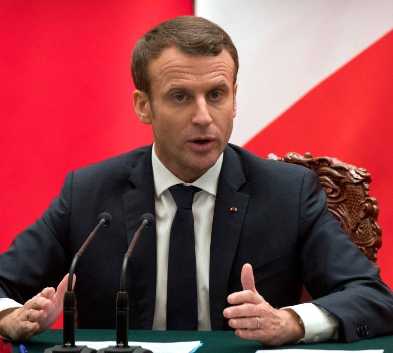 Macron informa a Ángela Merkel y a Theresa May de sus conversaciones con Trump