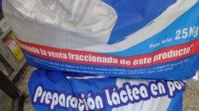 Conacerd   recomendó a la población no comprar leche al granel en los colmados del país. FUENTE EXTERNA