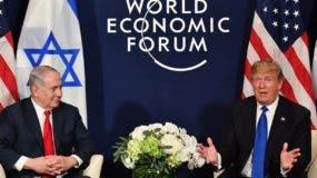 Los líderes europeos salieron en defensa del libre comercio y de la cooperación mundial.  AFP