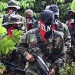 El presidente Juan Manuel Santos condenó un  ataque del ELN. AP
