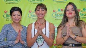 Cinthia Antonio, Victoria Brunacci y Natacha Quiterio.