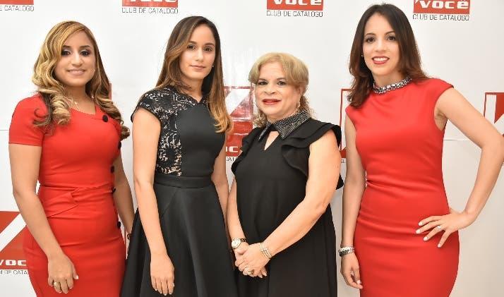 Elizabeth Guzmán, Mariel Méndez, Victoria de León y Jatnna Carrasco.