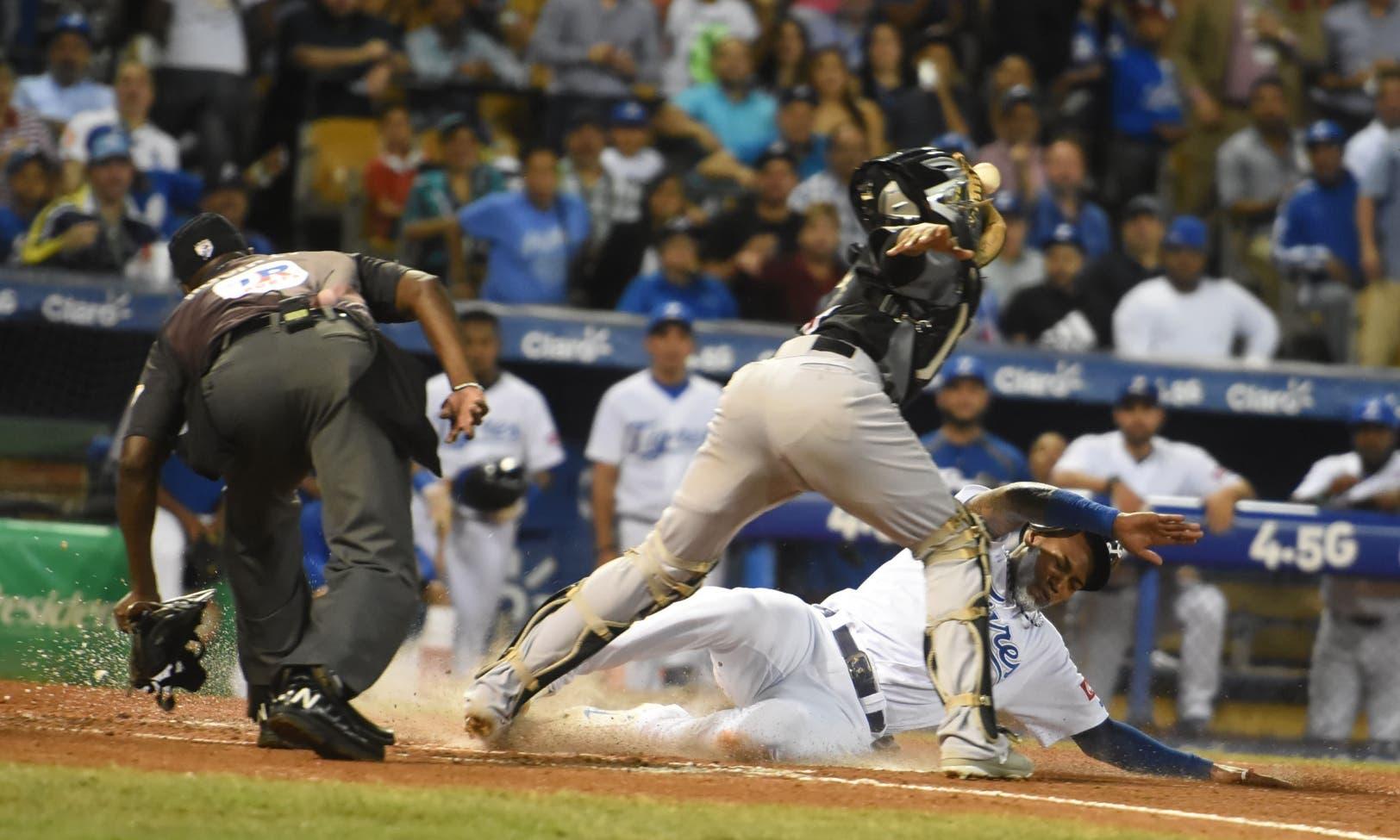 Leones y Águilas triunfan en round robin del béisbol dominicano
