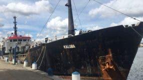 Las autoridades han determinado que el barco Kaluba fue utilizado para varias operaciones de transporte de drogas.