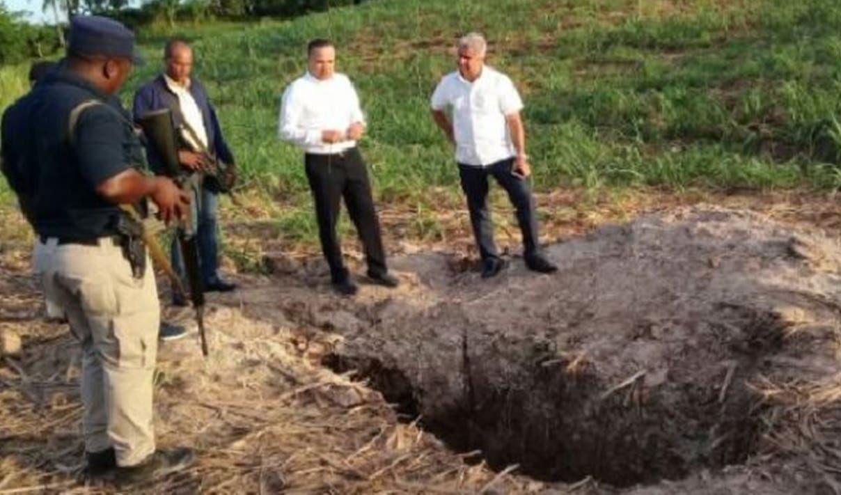Investigación  del hallazgo fue encabezada por el entonces director del Dicrim  Ney Aldrín Bautista.