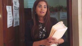 La jueza Katerine Rubio Matos dispuso libertad de varios reos.