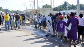 Los haitianos, casi 500, fueron devueltos a su país.