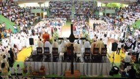 En la reunión de la conferencia se le dio la bienvenida al nuevo obispo Santiago Rodríguez.