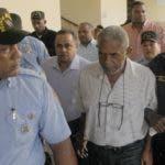 Guevara Díaz (Maconi) y los demás apresados por alijo en barco.