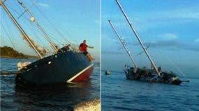 armada-dominicana-y-defensa-civil-rescatan-tres-turistas-al-irse-a-pique-su-velero-proximo-a-las-costas-de-luperon-en-puerto-plata