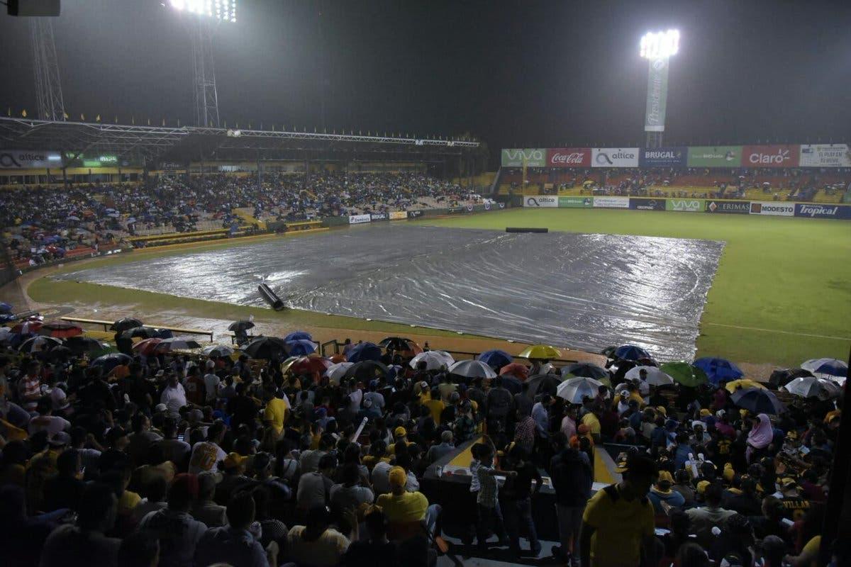 El juego fue programado para esta noche en el mismo estadio Cibao.
