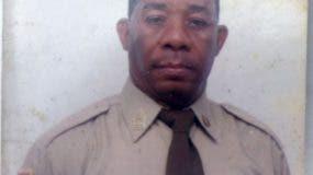 Domingo Florentino Delgado, uno de los dos extenientes asesinados ayer por delincuentes.