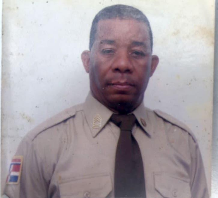 Domingo Florentino Delgado, uno de los dos extenientes asesinados por la banda de delincuentes, dos de cuyos miembros fueron abatidos ayer por la Policía.