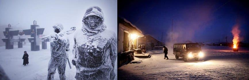 El lugar más frío del mundo