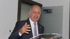 José Serulle Ramia, embajador dominicano en Trinidad y Tobago.