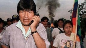 Evo Morales creció políticamente por encabezar la resistencia de los cocaleros a la erradicación de la coca.
