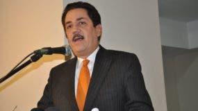El presidente del Parlacen, el diputado dominicano Tony Raful.