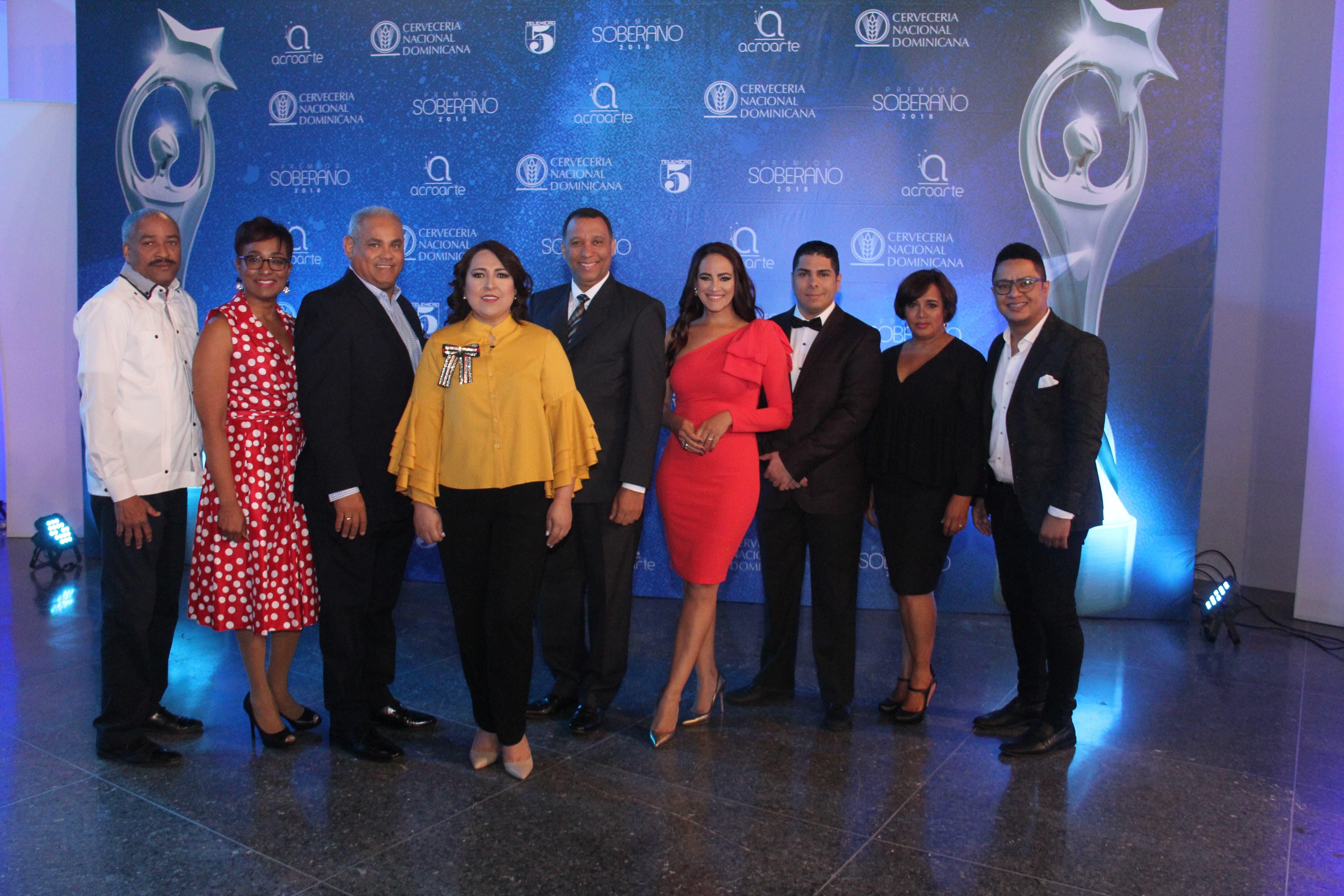 Grupo diverso de artistas entre los nominados a Premios Soberano 2018