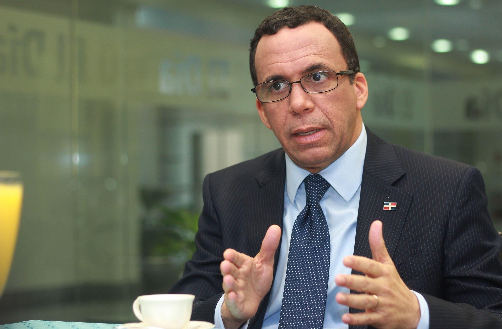 Andrés Navarro, ministro de Educación.  archivo