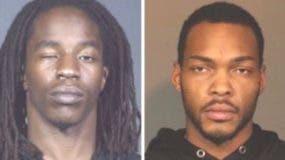 Diouf Makhtar y Brian Johnson, son acusados de herir a tres personas durante la balacera.