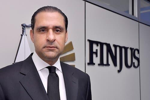 Servio Tulio Castaños, vicepresidente de Finjus. archivo