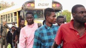 Muchos de los haitianos  apresados son devueltos hasta cuatro veces en una misma semana, tras ser interceptados intentando entrar ilegalmente al país.