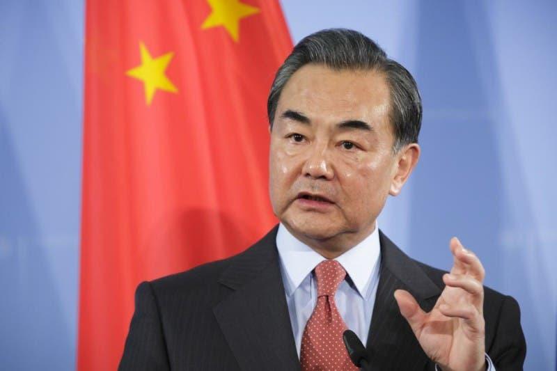 El ministro de asuntos exteriores de China Wang Yi.