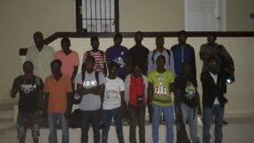 16 Nacionales haitianos detenidos en la provincia Dajabón