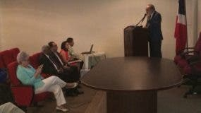 Francisco Pagán, director de OISOE durante su intervención.