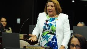 Diputada María  (Cleo) Sánchez.