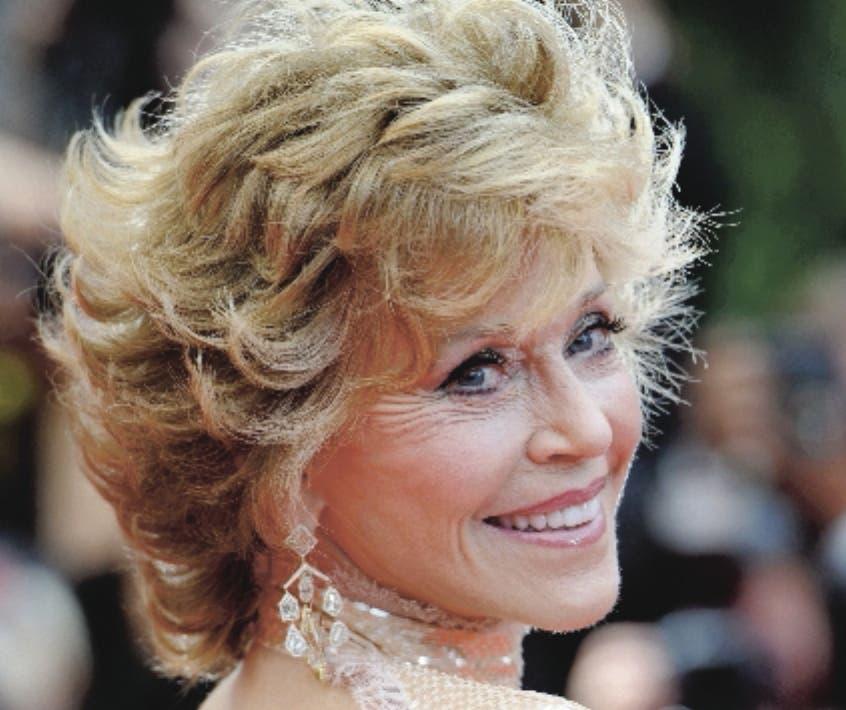 Actriz  Jane Fonda. Foto de archivo. AFP