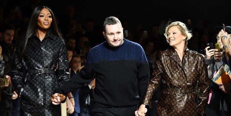 Naomi Campbell y Kate Moss cierran el desfile de hombre de Louis Vuitton