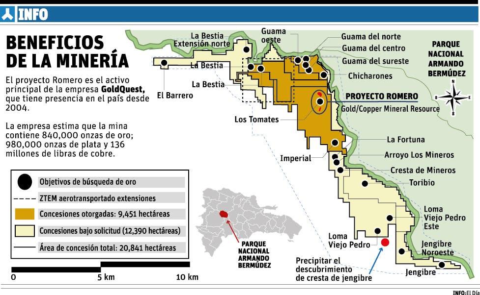 Explotarán mina de oro en San Juan