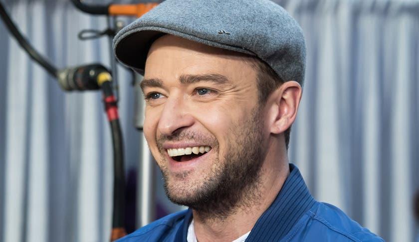 Cantante estadounidense Justin Timberlake.