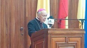 Monseñor Diego Padrón, jefe de la Iglesia Católica en Venezuela. Agencias