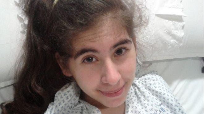 La joven comenzó a sentir los síntomas de su actual condición en 2013.