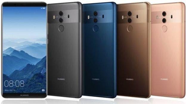 Huawei quiere competir con Apple con su producto estrella, el Huawei Mate 10 Pro.