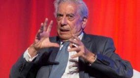 Escritor peruano Mario Vargas Llosa.