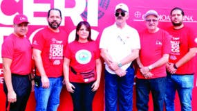 Félix Hernández, Juan José Muñoz, Claudia Almonte, Ernesto Díaz, Danilo Núñez y Rafael Mejía.