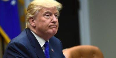 Donald Trump, presidente de Estados Unidos. AP