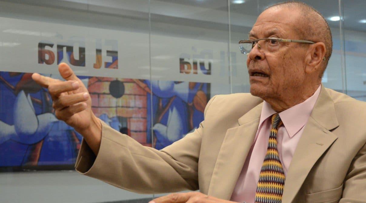 Rector de la UASD expresa pesar por deceso de exrector Miguel Rosado