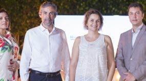 Susana Robles, Luis Fernando Gutiérrez, Ana Verardo y Enderson Marsano.